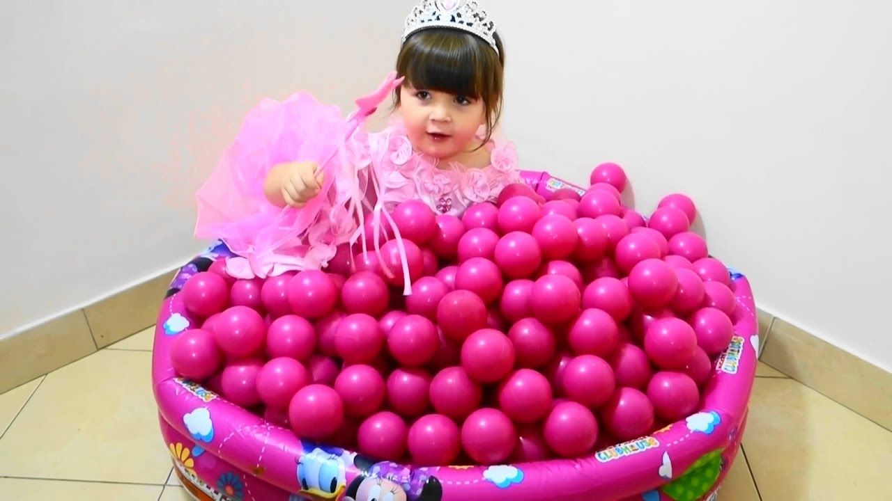 Baby Girl Toys : Baby toys balls funny videos with for girls