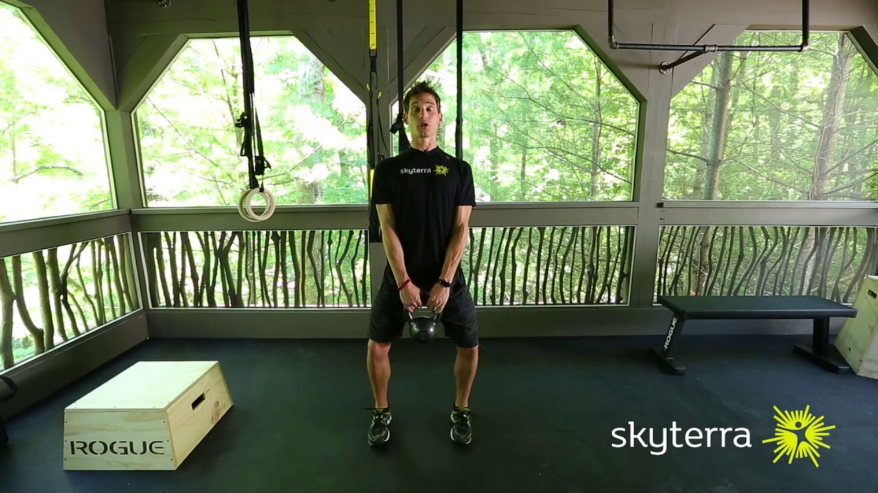 Movement Library: The Kettlebell Swing