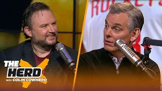 Daryl Morey on James Harden's historic scoring pace, CP3 impact & Rockets-Warriors | NBA | THE HERD