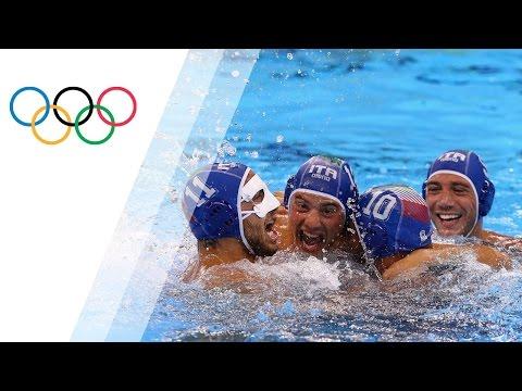 Italy win Water Polo bronze