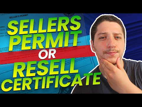 What Are The Differences Between A Resale Certificate And A Sales Tax Permit?