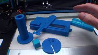 3D Printing CREALITY CR 10 with tubalcain #1