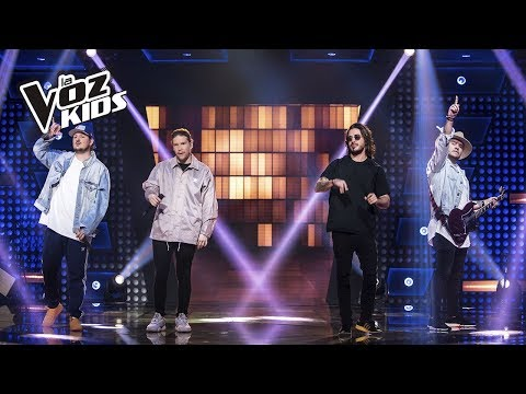 Piso 21 canta Déjala Que Vuelva y Te Amo | La Voz Kids Colombia 2018