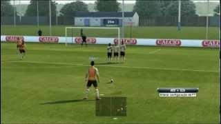 Como Bater Falta no Pro Evolution Soccer 2013 Tutorial Completo