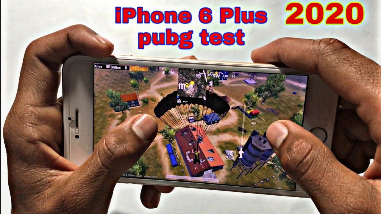 iPhone 6 Plus pubg test high graphics setting