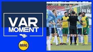 VAR | Feyenoord krijgt penalty na hands Heerings