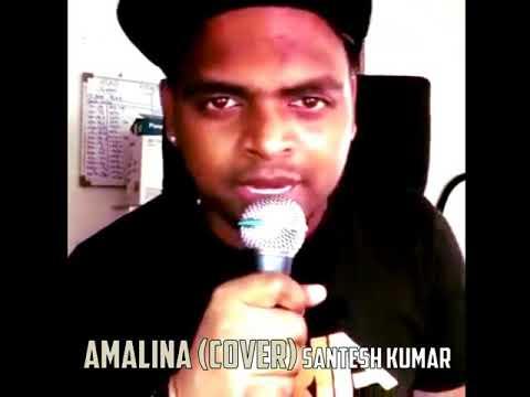 AMALINA SONG Tamil Version cover by Santesh Kumar