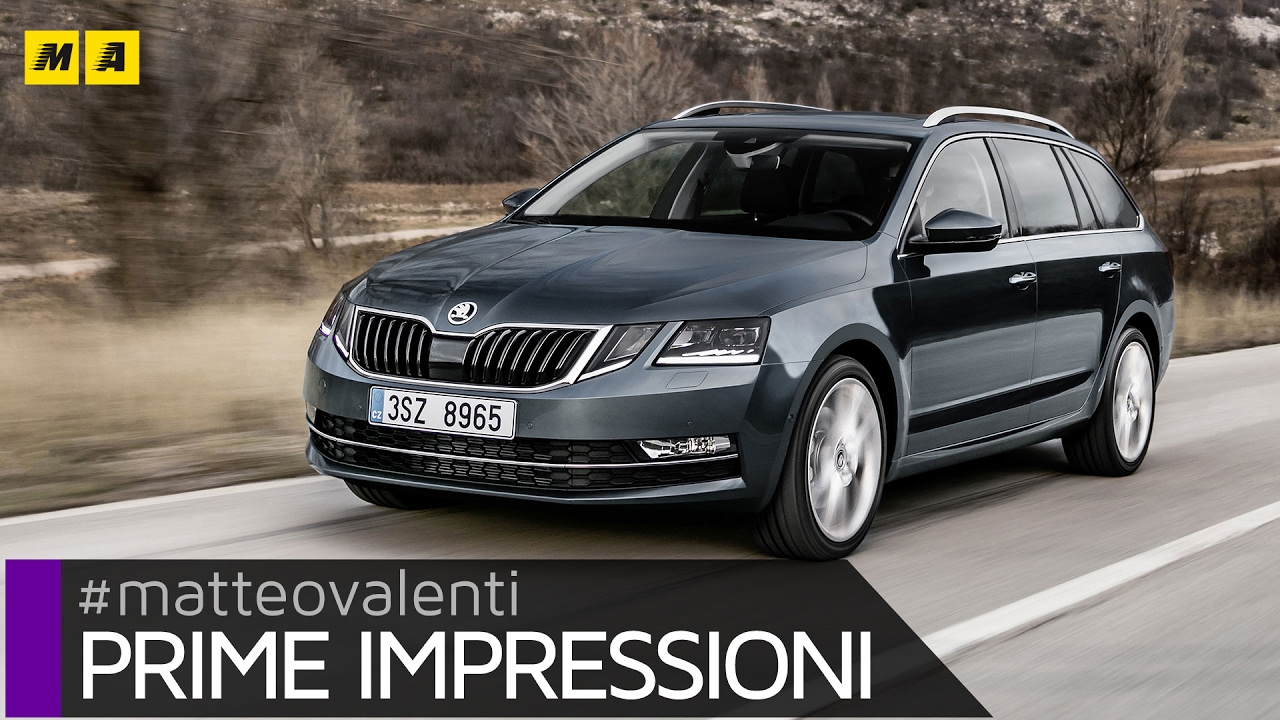 skoda octavia wagon restyling 2017 altro che suv primo test youtube. Black Bedroom Furniture Sets. Home Design Ideas