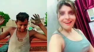Bolo Itne Din Kya Kiya- Tera Naam Liya aur GHUR banaya😎 | Most Funny Musically Duet