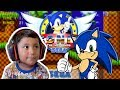 4 year old TWIN plays SEGA Sonic The Hedgehog | IOS MOBILE GAMES | FAMBAM GAMING