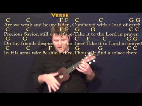 What A Friend We Have In Jesus Ukulele Chords By Hymn Worship Chords