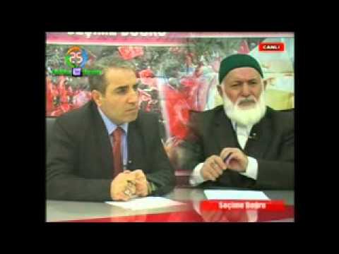 Hak ve Hakikat Partisi Gn. Bşk. Sayın Dursun GÜNEŞ Erzurum Kanal 25 televizyonunda HAKkı konuştu...