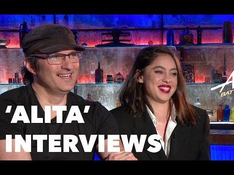 ALITA: BATTLE ANGEL Interviews: Rosa Salazar, James Cameron, Robert Rodriguez, Christoph Waltz,