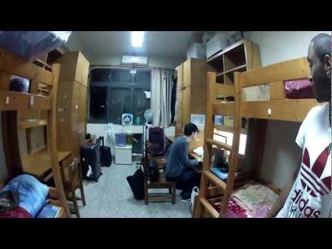 Arrivée à Taïwan, taichung university