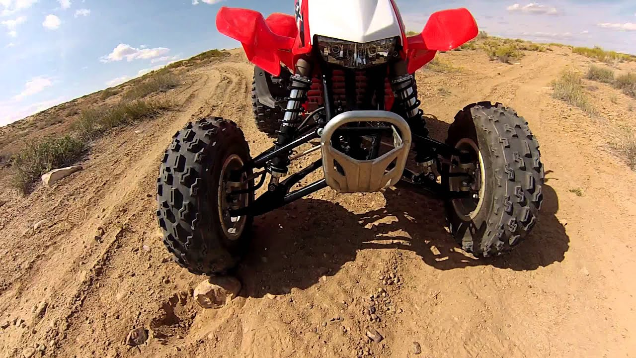 2013 Honda TRX450R quick look - YouTube