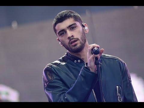 ZAYN MALIK || SINGING URDU SONG ON STAGE 2017 INTERMISSION FLOWER  NEW VIDEO LEAKED