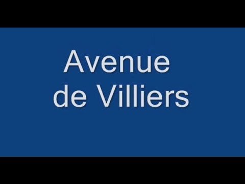 Avenue de Villiers Paris Arrondissement  17e