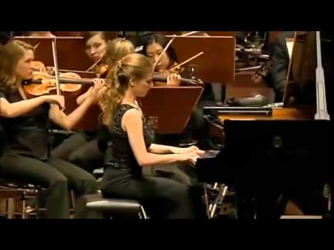 Julia Fischer -Grieg Piano Concert PART 3 with Junge Deutsche Philharmonie