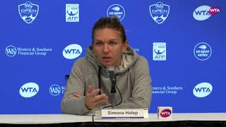 Simona Halep Press Conference | 2018 Western & Southern Open Semifinal