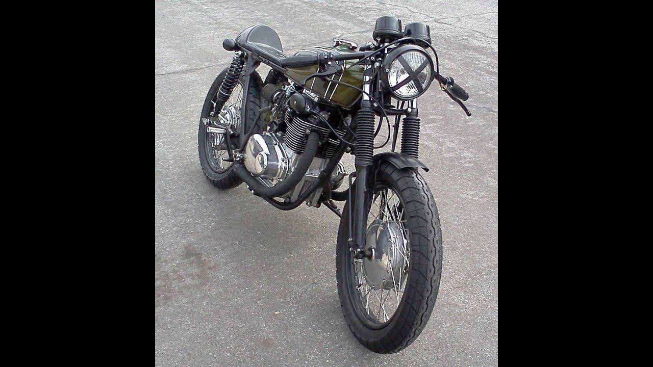 1972 Honda CB350 Custom Cafe Racer Build