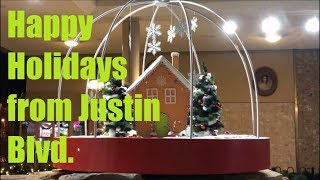 Happy Holidays from Justin Blvd.