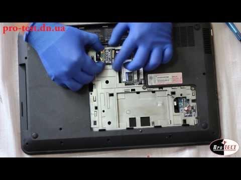 Как разобрать ноутбук HP Pavilion G7. Ремонт ноутбука Макеевка.