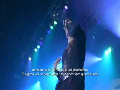 Gackt Kimi Ga Oikaketa Yume Live Subtitulado En Español