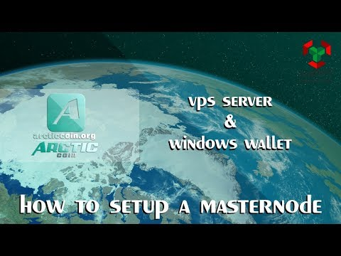 How To Setup Arctic Coin Masternode