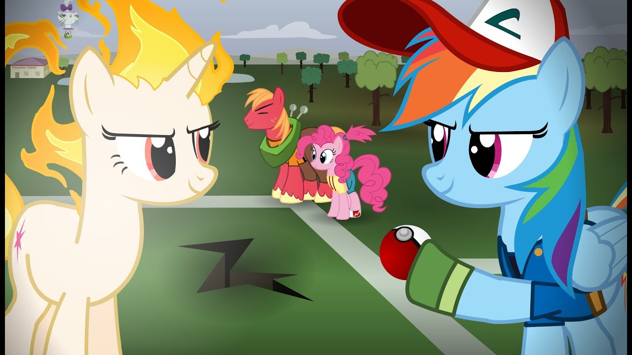 Pokemon Re-enacted by Ponies - - 204.2KB