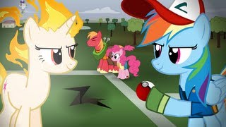 Repeat youtube video Pokemon Re-enacted by Ponies