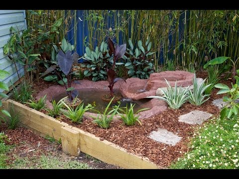 how to install a pond the easy way