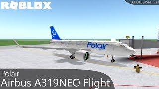 ROBLOX - Polair Inaugural Airbus A319NEO Flight