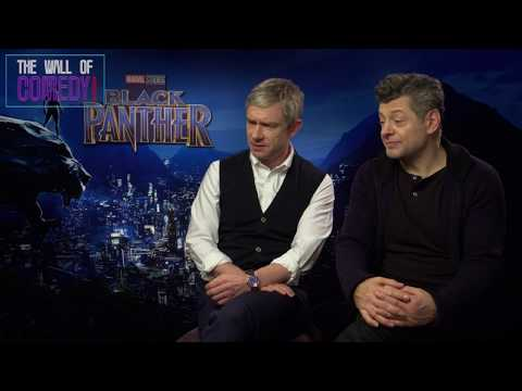 Black Panther Secrets From Martin Freeman & Andy Sirkus