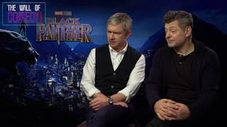 Black Panther Secrets From Martin Freeman & Andy Sirkus