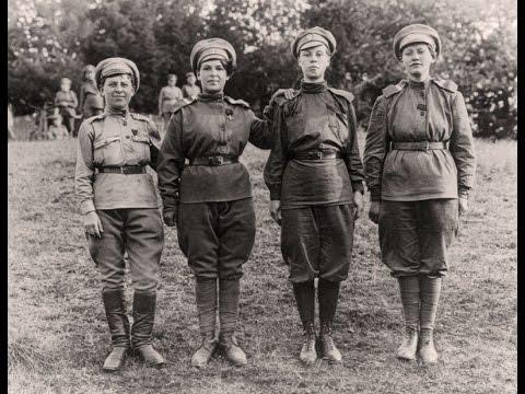 Женщины на войне. Женские батальоны смерти. Мария Бочкарева