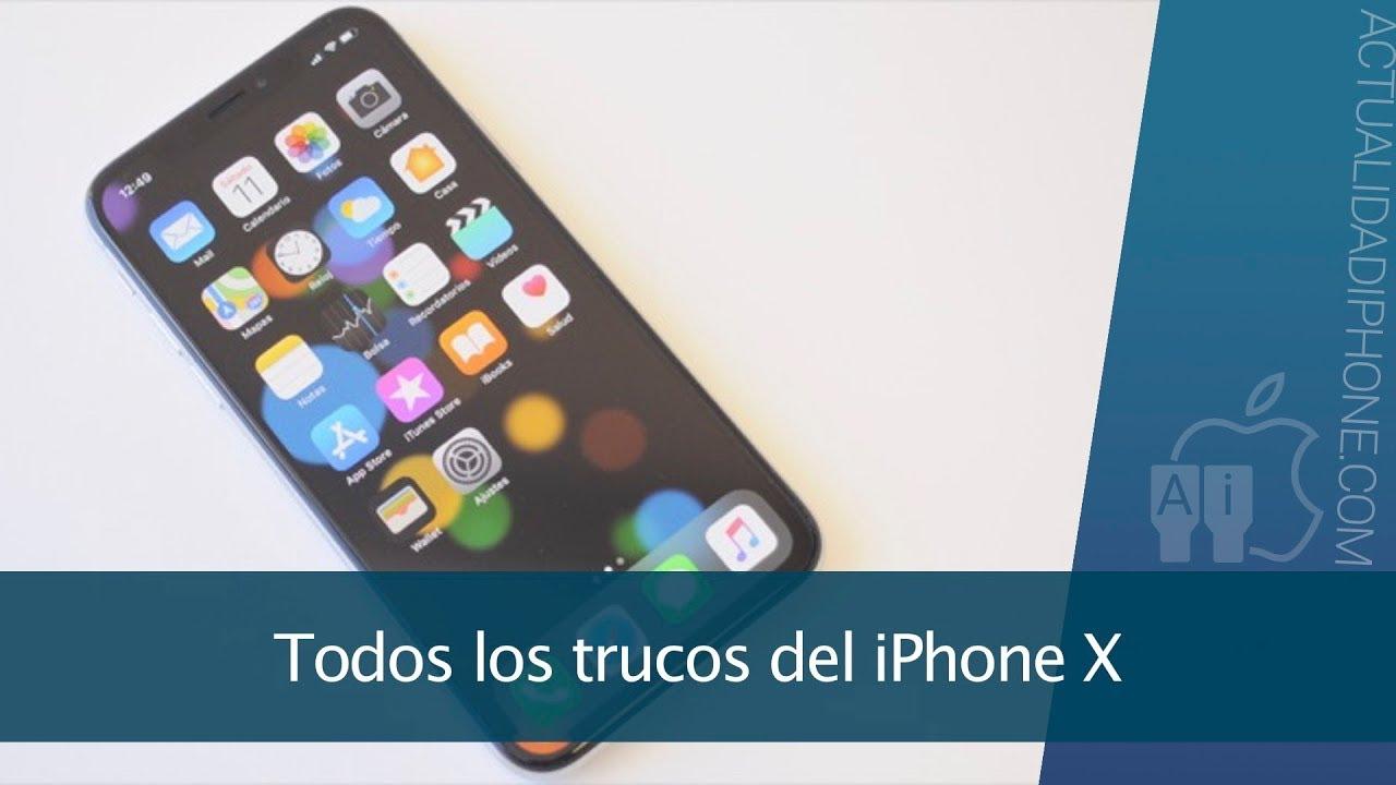 263790d77cb Todos los trucos del iPhone X para aprovecharlo al máximo - YouTube