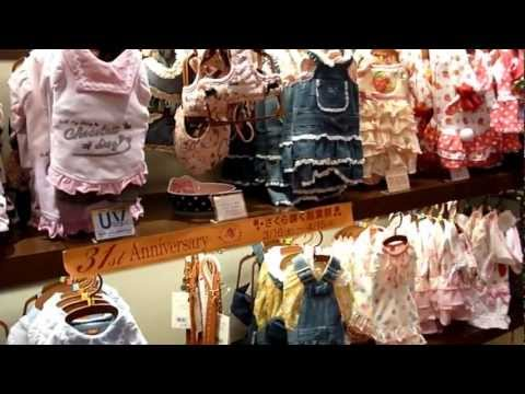 Japanese dog clothing store