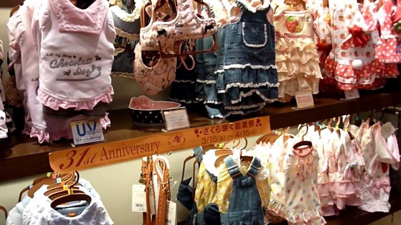 Japanese dog clothing store