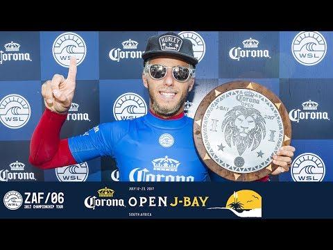 Finals Day Post Show - Filipe Toledo Makes History at the Corona Open J-Bay 2017