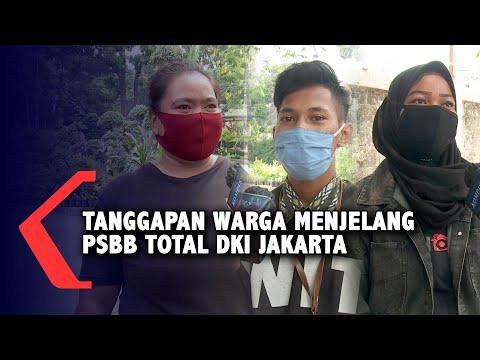 Tanggapan Warga Soal Penerapan Kembali PSBB Total di DKI Jakarta