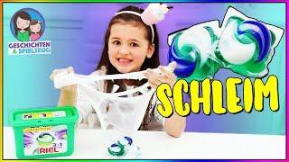 Tide Pod Challenge - Schleim aus Waschmittel? Geschichten und Spielzeug