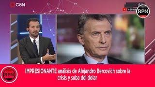 IMPRESIONANTE analisis de Alejandro Bercovich sobre la crisis y suba del dolar