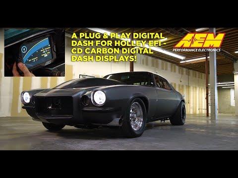 A Plug & Play Digital Dash For Holley EFI Systems!