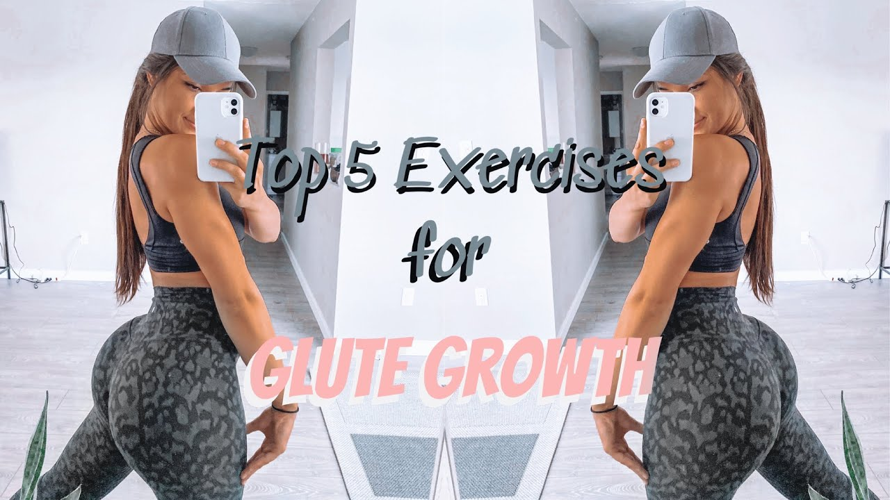 Top 5 Exercises for GLUTE GROWTH || Ultamate Booty Workout
