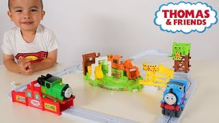 BIG LOADER Thomas & Friends Track Set Unboxing Fun With Ckn Toys