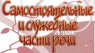 Русский язык 11 класс. Самостоятельные и служебные части речи. Имя существительное