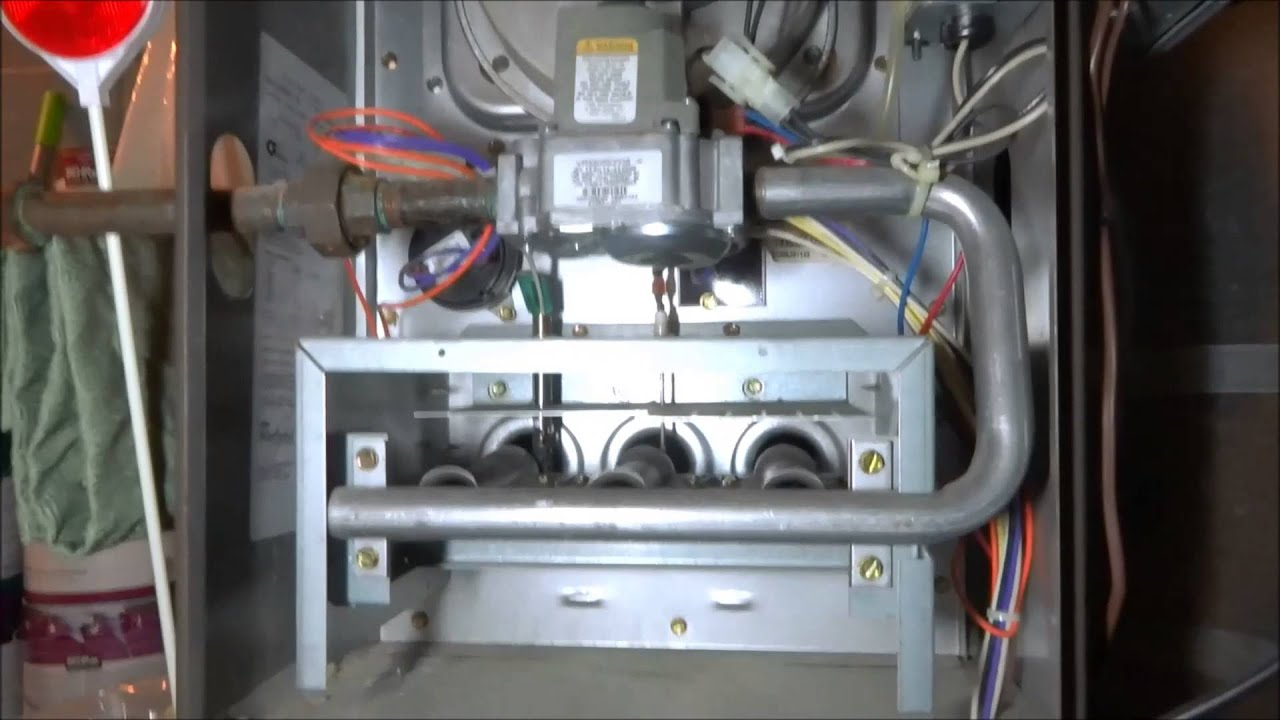 hvac : gas furnace no heat or air conditioning - YouTube
