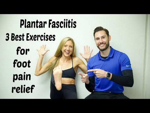 Plantar Fasciitis: 3 Best Exercises. Get Rid Of Foot Pain Now!