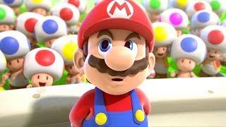 Mario + Rabbids Kingdom Battle Walkthrough Part 1 - Welcome to the Jungle
