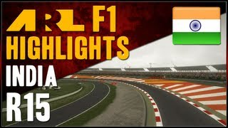 F1 2012 | ARL F1 - S6 Round 15 - Indian Grand Prix (Commentary)